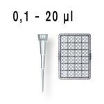 ULR-移液器吸头, 0.1-20 µl  散装/补充装, 灭菌/未灭菌