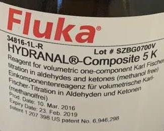 卡尔费休试剂,容量法单组份滴定剂(5mg 水/mL),用于醛酮类样品